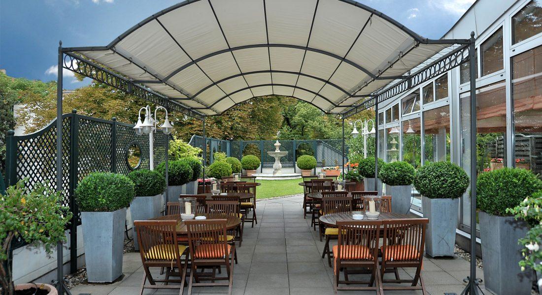 Dachterrasse Hotel Ludwig van Beethoven