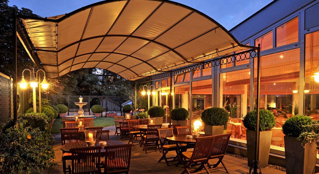 Dachterrasse Hotel Ludwig van Beethoven Berlin