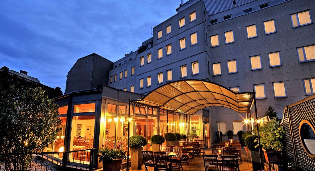 Dachterrasse Hotel Ludwig van Beethoven Berlin Kreuzberg