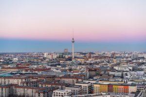 Berlin Hotel Skyline Hauptstadt Karte Übersicht